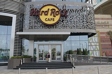 Hard Rock Cafe Dubai 2012